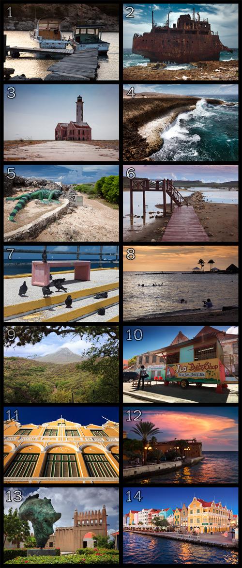 Übersicht der besten Bilder aus Curacao